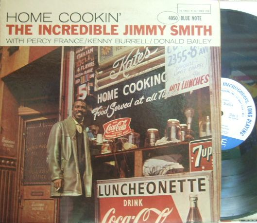 【米Blue Note 47w63rd mono】Jimmy Smith/Home Cookin' (Kenny Burrell)