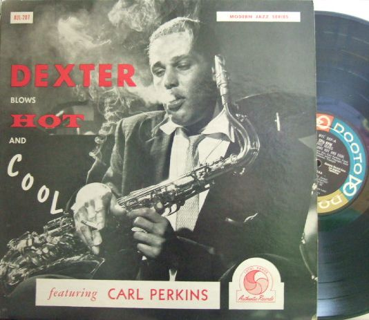 【米Dooto/Authentic mono】Dexter Gordon/Blows Hot And Cool (Carl Perkins, Leroy Vinnegar, etc)