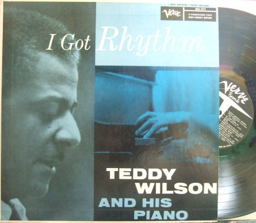 【米Verve mono】Teddy Wilson And His Piano/I Got Rhythm