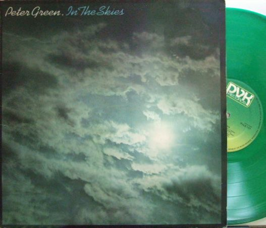 【英PVK】Peter Green/In The Skies (Peter Bardens, Snowy White, Kuma Harada, etc) Green Vinyl