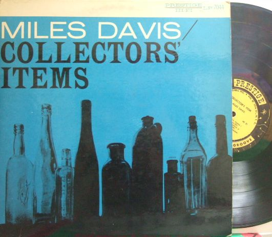 【米Prestige NYC mono】Miles Davis/Collector's Item