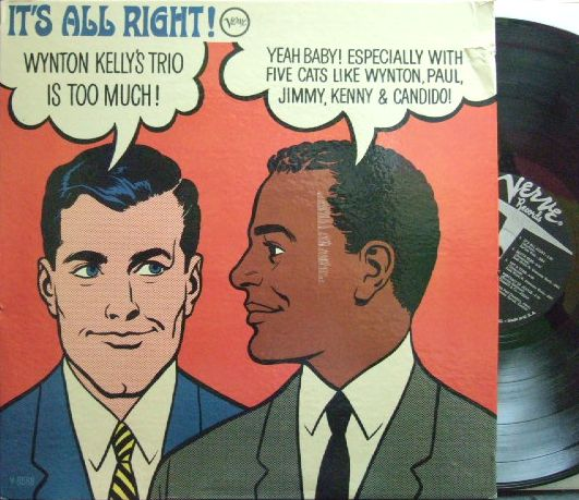 【米Verve mono】Wynton Kelly/It's All Right! (Kenny Burrell, Paul Chambers, etc)