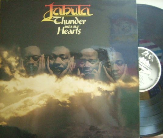 【英Caroline】Jabula/Thunder Into Our Heart (Dudu Pukwana, Julian Bahula, etc)
