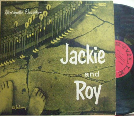 【米Storyville mono】Jackie and Roy/Same (Barney Kessel, Red Mitchell, Shelly Manne)
