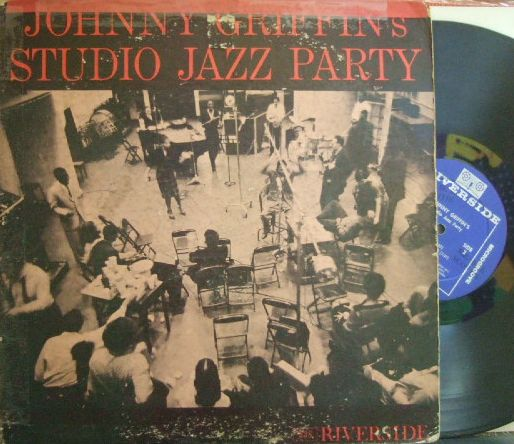 【米Riverside mono】Johnny Griffin/Studio Jazz Party^