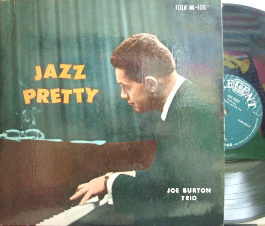【米Regent mono】Joe Burton Trio/Jazz Pretty