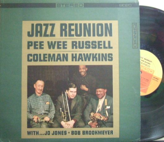 【米Candid】Pee Wee Russell, Coleman Hawkins/Jazz Reunion (with Jo Jones, Bob Brookmeyer, etc)