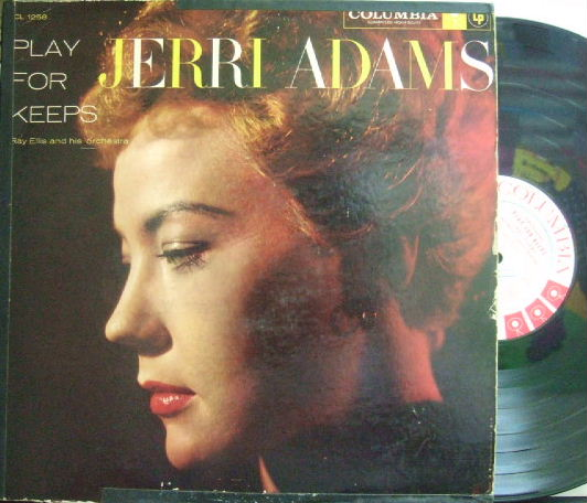 【米Columbia mono】Jerri Adams/Play For Keeps (promo)