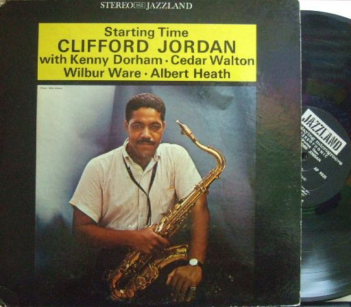 【米Jazzland】Clifford Jordan/Starting Time (Kenny Dorham)