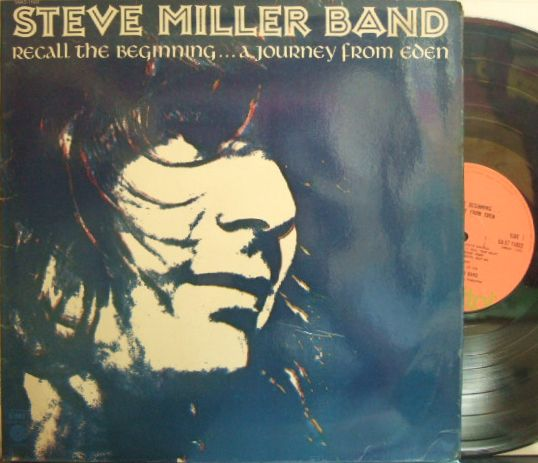 【英Capitol】Steve Miller Band/Recall The Beginning...A Journey From Eden (Jesse Ed Davis, etc)