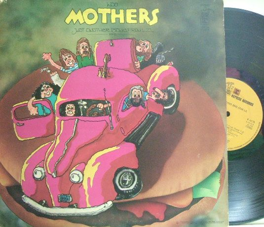 【英Reprise】Mothers/Just Another Band from L. A. (Frank Zappa)