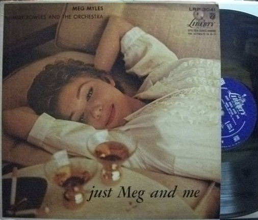 【米Liberty mono】Meg Myles with Jimmy Rowles/Just Meg And Me
