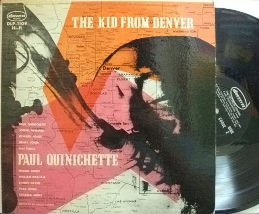 【米Dawn mono】Paul Quinichette/The Kid From Denver (Thad Jones, Nat Pierce, etc)
