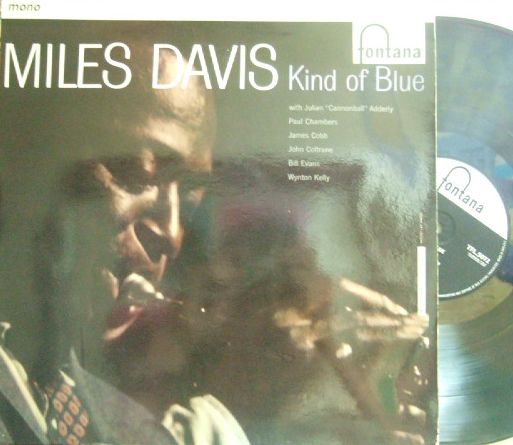 【英Fontana mono】Miles Davis/Kind of Blue (Bill Evans, John Coltrane, etc)