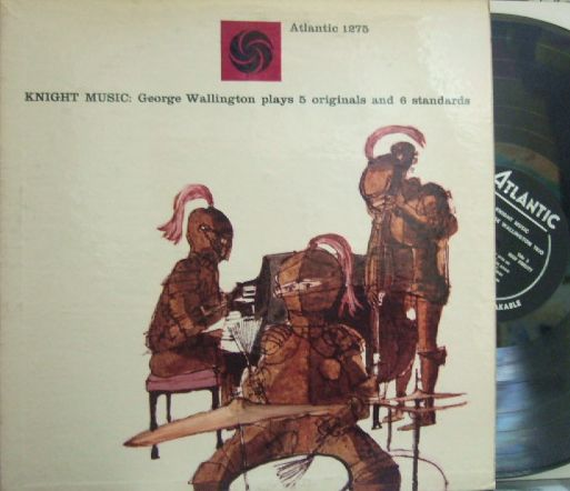 【米Atlantic mono】George Wallington/Knight Music (Teddy Kotick, Nick Stabulas)