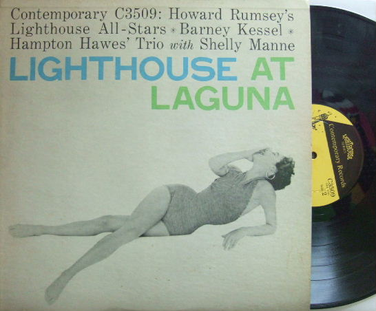 【米Contemporary mono】Howard Rumsey's Lighthouse Allstars/At Laguna (Hampton Hawes, etc)