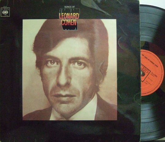 【英CBS】Leonard Cohen/The Songs of Leonard Cohen