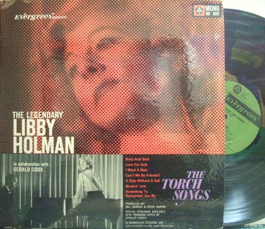 【米Evergreen mono】Libby Holman/The Legendary with Gerald Cook (Aaron Bell)