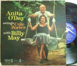 【米Verve mono】Anita O'Day/Swings Cole Porter with Billy May