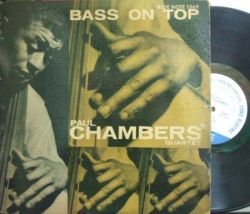 【米Blue Note 47w63rd mono】Paul Chambers/Bass On Top
