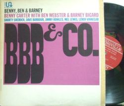 【米Swingville mono】Benny Carter with Ben Webster & Barney Bigard/BBB & Co - West Coast Swing Festival