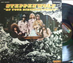 【米Dunhill】Steppenwolf/At Your Birthday Party (特殊ジャケット)