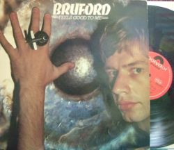 【英Polydor】Bill Bruford/Feels Good To Me (Allan Holdsworth, Dave Stewart, Kenny Wheeler)