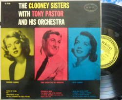 【米Epic mono】The Clooney Sisters (Betty & Rosemary Clooney)/with Tony Pastor and His Orchestra
