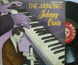 【米Savoy mono】Johnny Costa/The Amazing Johnny Costa