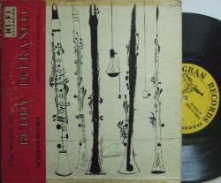 【米Norgran mono】Buddy DeFranco/The Music (Kenny Drew, Milt Hinton, Art Blakey)