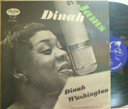 【米EmArcy mono】Dinah Washington/Dinah Jams (Clifford Brown, Herb Geller, Junior Mance, etc)