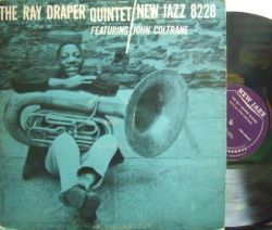 【米New Jazz mono】Ray Draper/Featuring John Coltrane