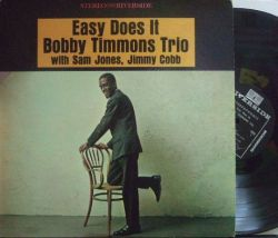 【米Riverside】Bobby Timmons Trio/Easy Does It (Sam Jones, Jimmy Cobb)