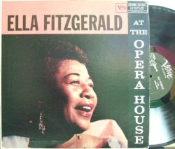 【米Verve mono】Ella Fitzgerald/at The Opera House (Oscar Peterson, Stan Getz, Coleman Hawkins, etc)