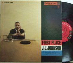【米Columbia mono】J.J.Johnson/First Place (Tommy Flanagan, Paul Chambers, Max Roach)