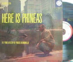 【米Atlantic mono】Phineas Newborn Jr/Here Is Phineas (Oscar Pettiford, Kenny Clarke, etc) (RVG) ブルズ・アイ・レーベル