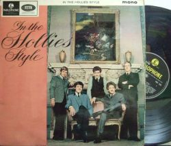 【英Parlophone mono】The Hollies/In The Hollies Style