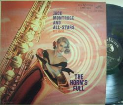 【米RCA Victor mono】Jack Montrose/The Horn's Full (Red Norvo, Barney Kessel, Jim Hall, etc)