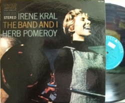【米United Artists】Irene Kral/The Band And I (with Herb Pomeroy)