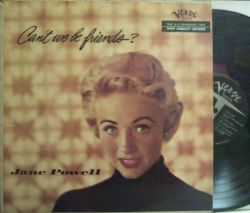 【米Verve mono】Jane Powell/Can't We Be Friends?