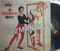 【米Decca mono】John Graas/Jazz Mantics (Art Pepper, Jack Sheldon, etc)