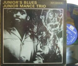 【米Riverside mono】Junior Mance Trio/Junior's Blues