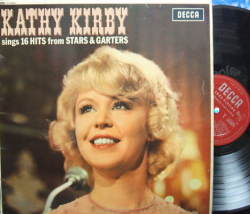 【英Decca mono】Kathy Kirby/sings 16 Hits from Stars & Garters (open Decca)