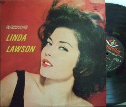 【米Chancellor mono】Linda Lawson/Introducing (Marty Paich, Bud Shank, Bill Perkins, etc)