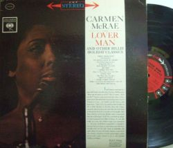 【米Columbia】Carmen McRae/Sings Lover Man and Other Billie Holiday Classics (Nat Adderley, Eddie Lockjaw Davis, etc)