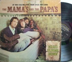 【米Dunhill mono】Mamas & Papas/If You Can Believe your Eyes And Ears (レアな Includes California Dreamin' カバー)