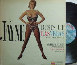 【米20th Fox mono】Jayne Mansfield/Busts Up Las Vegas-Welcome You To Her House of Love