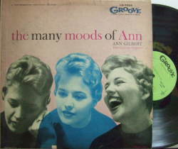 【米Groove mono】Ann Gilbert/The Many Moods of Ann (Al Cohn, Hal McKusick, etc) (promo)