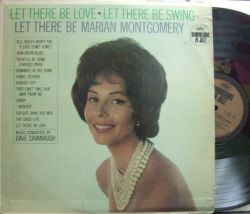 【米Capitol mono】Marian Montgomery/Let There Be Love, Let There Be Swing, Let There Be Marian Montgomery
