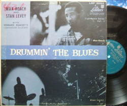 【米Liberty mono】Max Roach-Stan Levey/Drummin' The Blues
